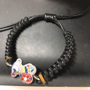 Jewelry - Macramé Bear sliding not bracelet